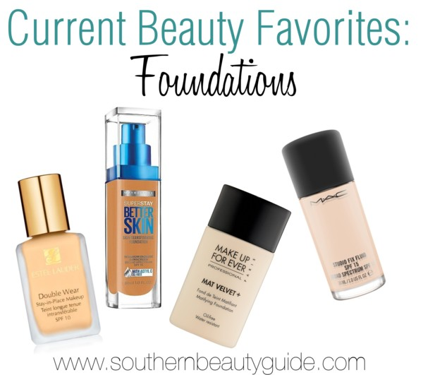 Current Beauty Favorites: Foundations