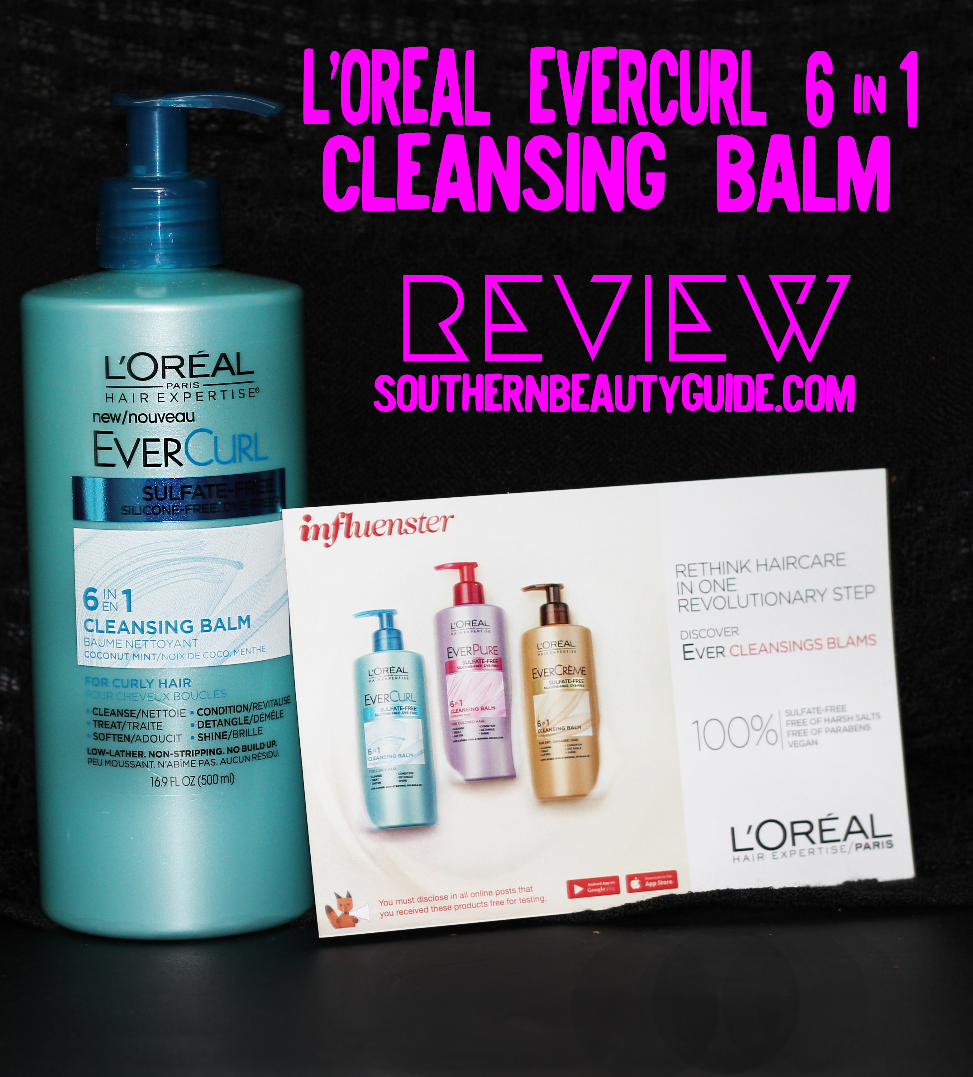 Let's put  L'Oreal Cleansing Balm EverCurl to the test!