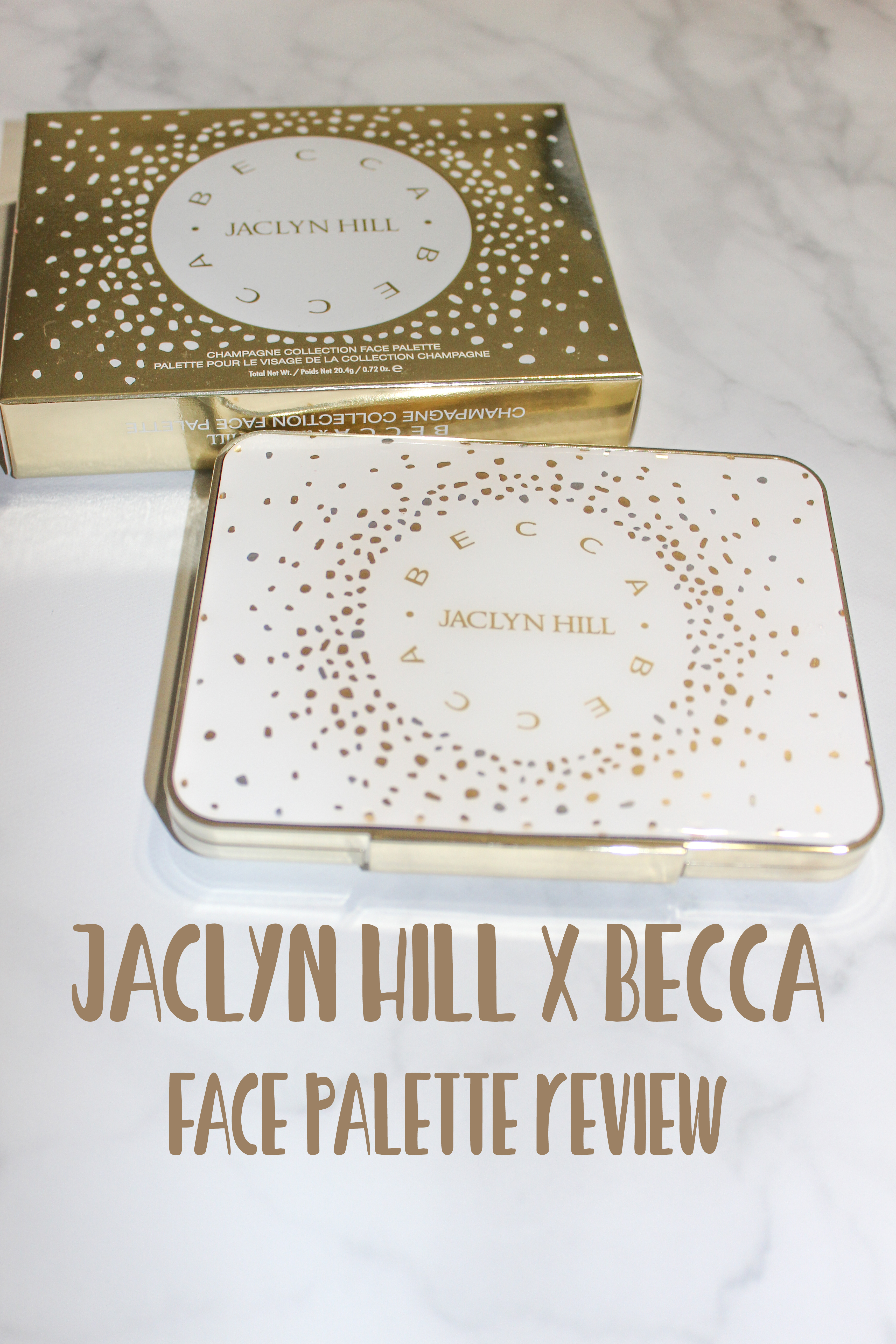 Becca x Jaclyn Hill Champagne Collection Face Palette Review!