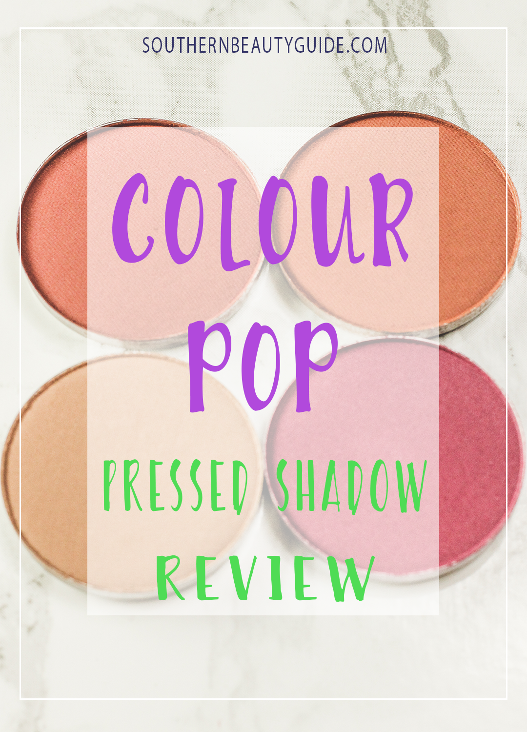 Colour Pop: Eye Shadow Review!