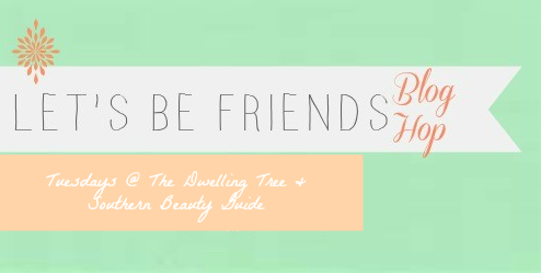 News about the Let's Be Friends Blog Hop!