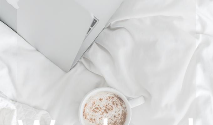 Weekend Update:Best Hot Chocolate Ever, Blog Changes & More!