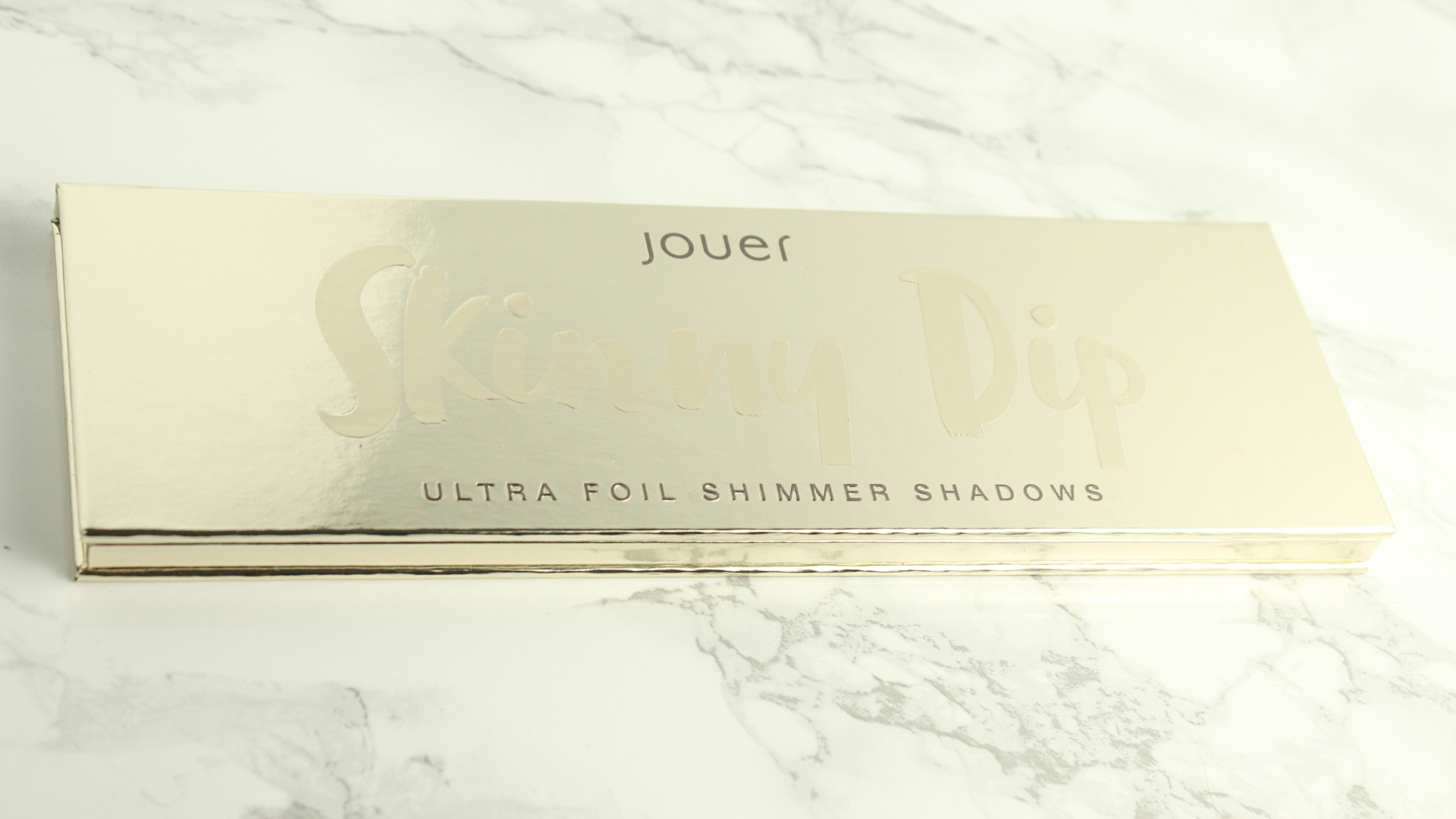 JOUER SKINNY DIP ULTRA FOIL SHIMMER SHADOWS PALETTE: REVIEW, PHOTOS, & SWATCHES