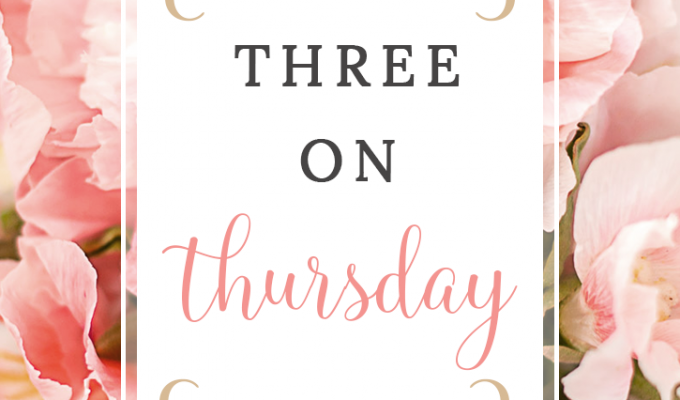 Three on Thursday| ACM Awards, Makeup & More!