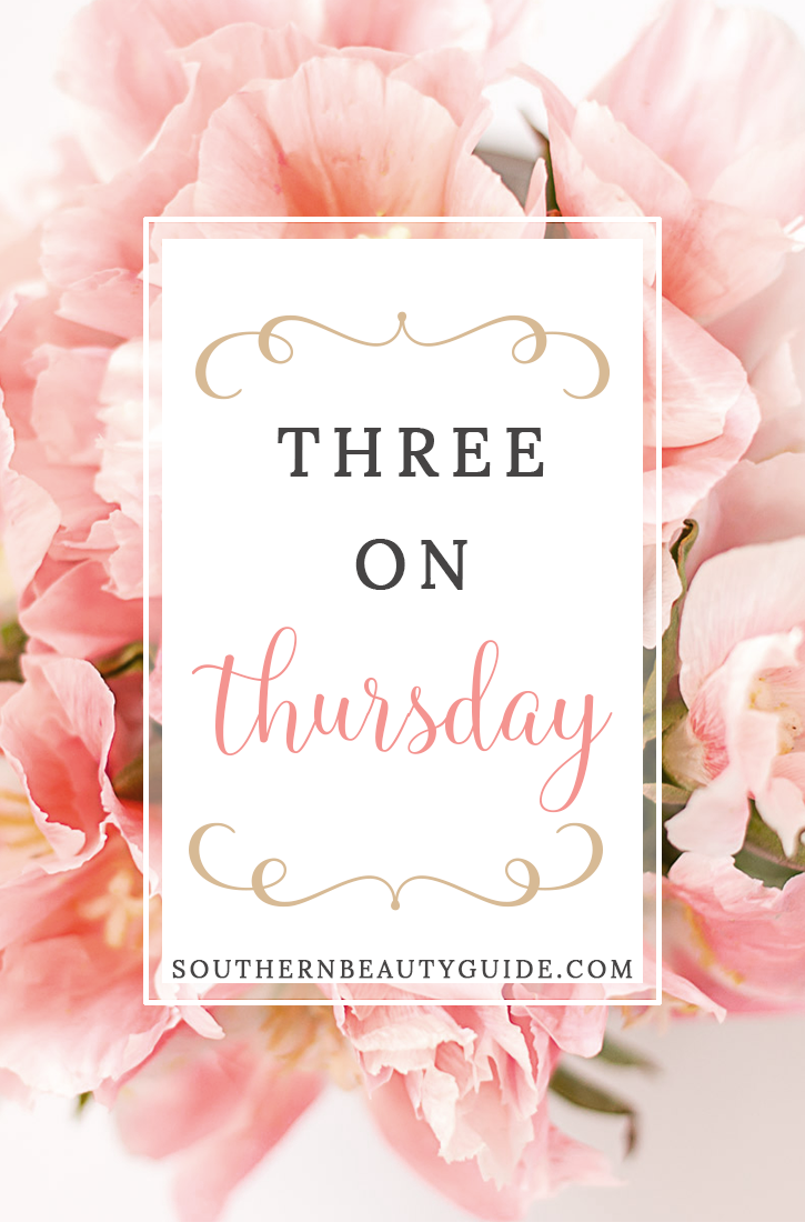 Three on Thursday-Weekly Favorites