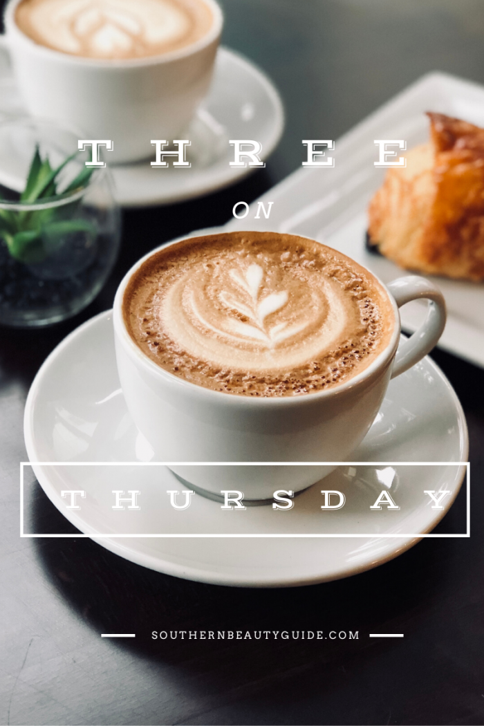 Three on Thursday   Weekly Favorites