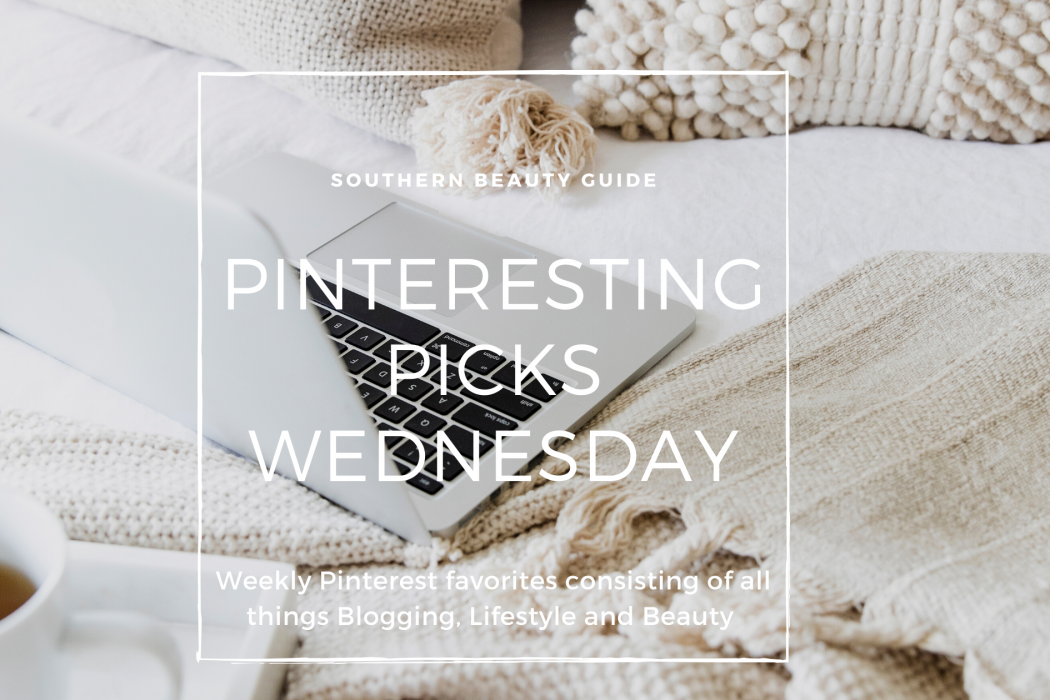 Pinteresting Picks Wednesday: Blogging & Food