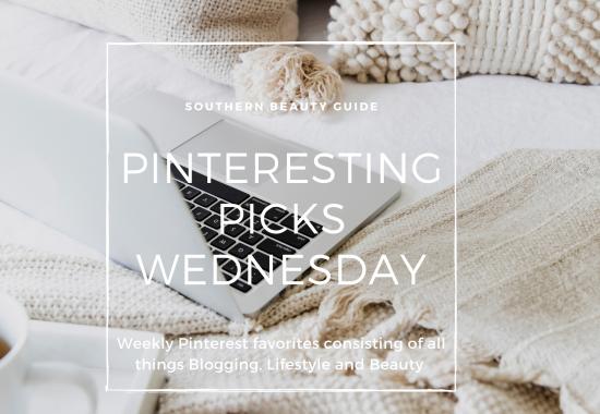 Pinteresting Picks Wednesday: Blogging & Food